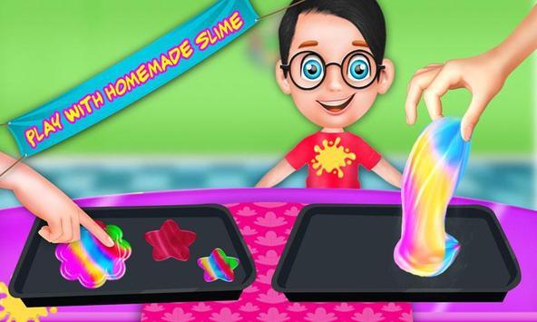How To Make Slime Toy: Glowing DIY Maker Games screenshot 8
