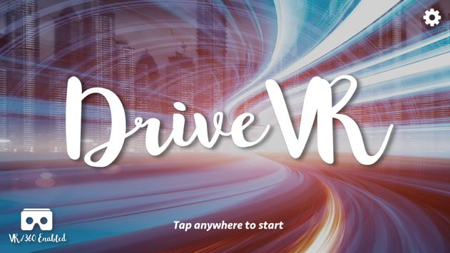 Drive VR poster