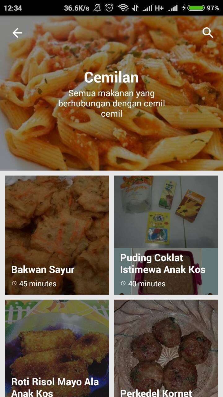 Resep Masakan Anak Kos For Android Apk Download