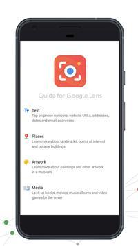 Info for Google Lens poster