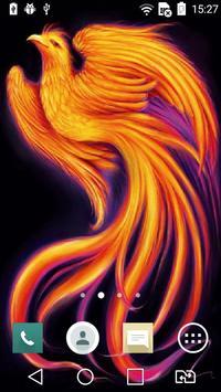 Shining bird live wallpaper poster