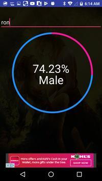 Name Sex Rating ML screenshot 2