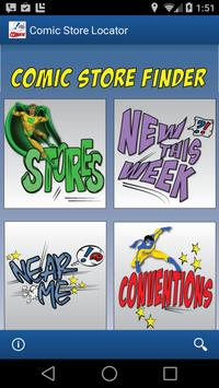 Comic Store Finder poster