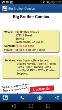 Comic Store Finder apk screenshot