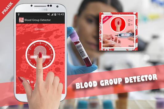 Blood Group Scanner Prank screenshot 14