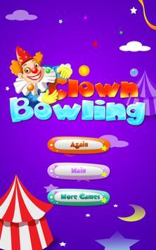 Clown Bowling FREE apk screenshot