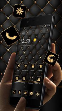 Gold Black Luxury Business Theme screenshot 4