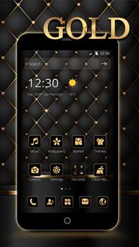 Gold Black Luxury Business Theme screenshot 1