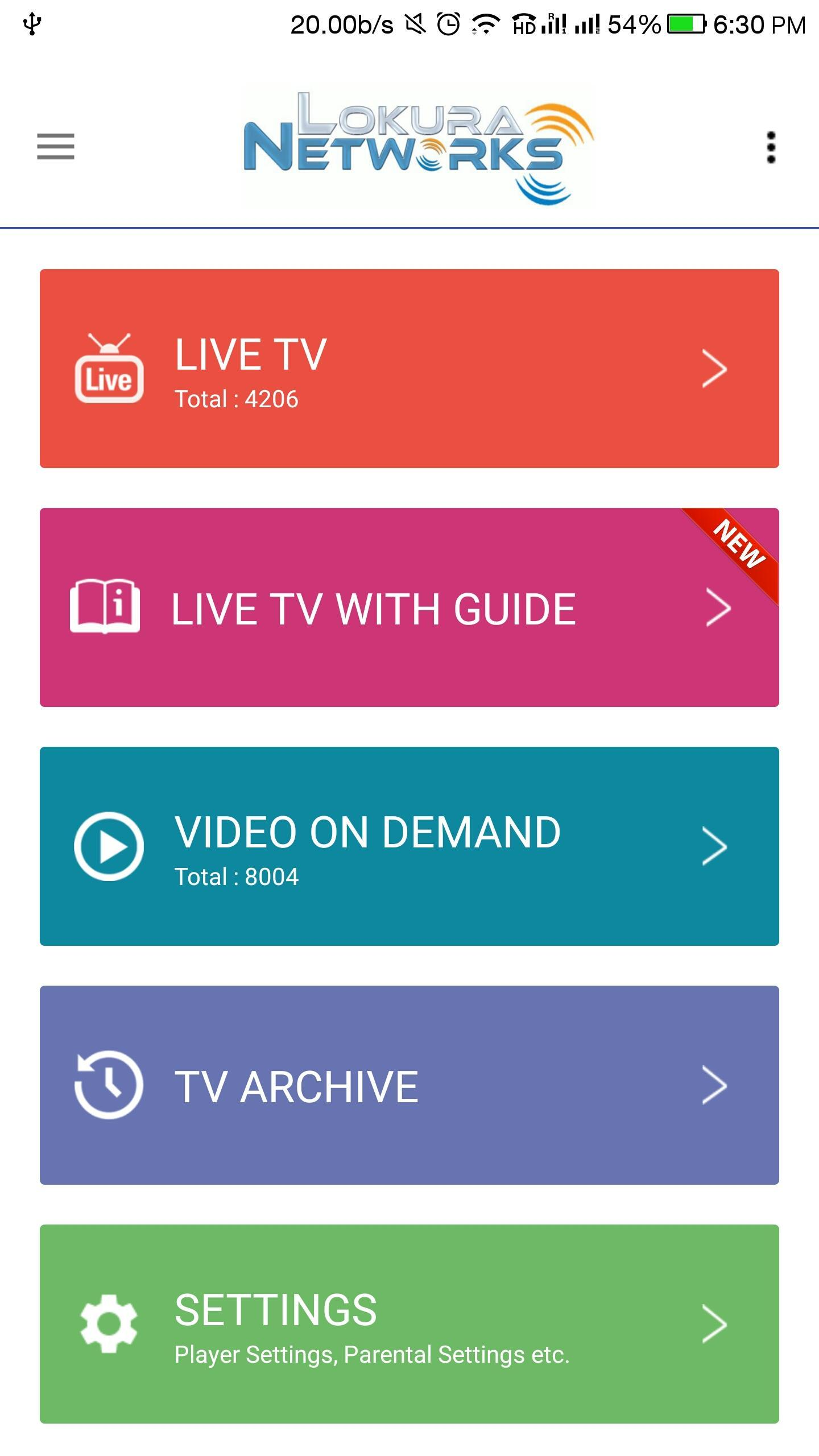GOLD IPTV for Android - APK Download