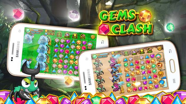 Clash Of Gems poster