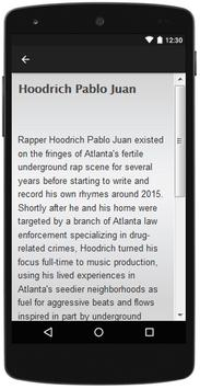 Hoodrich Pablo Juan the most complete lyrics songs screenshot 2