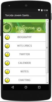 Torcida Jovem the most complete lyrics songs. screenshot 1