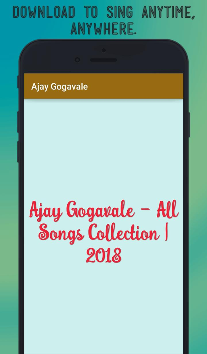 Ajay Gogavale's Hit Collection - 2018 for Android - APK Download