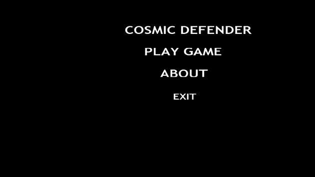 CosmicDefender apk screenshot