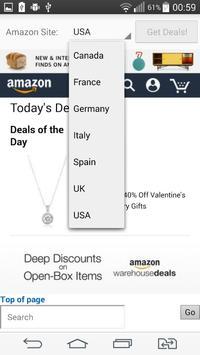 Gold Box Daily Deals Finder screenshot 1