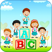 ABC Kids Learning Alphabets By Phonics icon