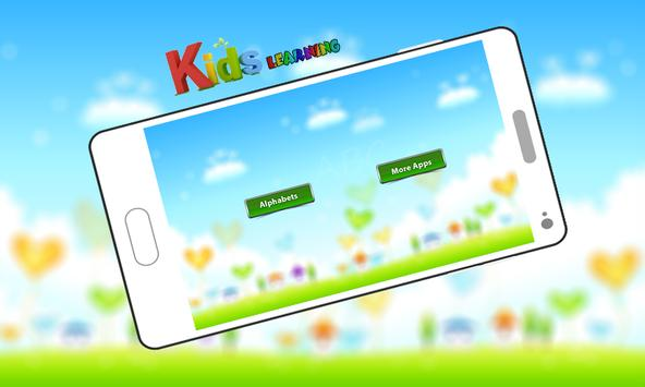 ABC Kids Learning Alphabets By Phonics screenshot 1