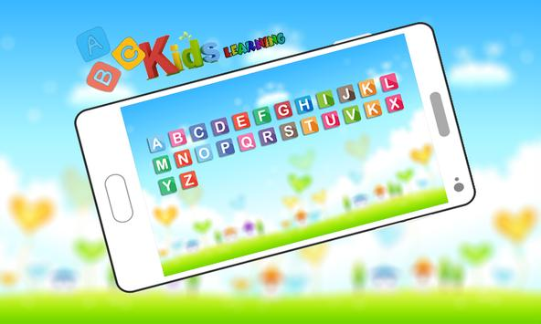 ABC Kids Learning Alphabets By Phonics screenshot 2