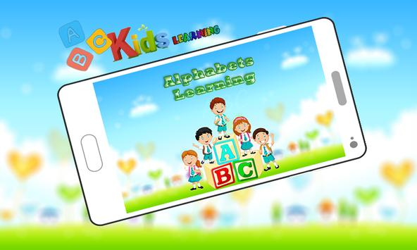 ABC Kids Learning Alphabets By Phonics apk screenshot