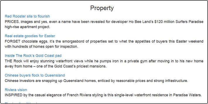Gold Coast News apk screenshot