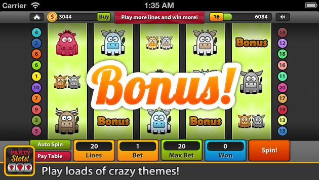 Lucky Vegas Party Slots screenshot 1