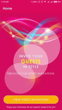 Wedding, Birthday Invitations for social share poster