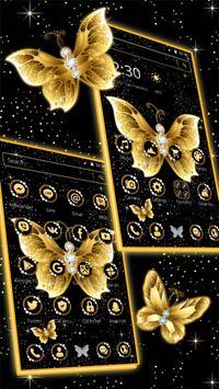 Golden butterfly screenshot 1