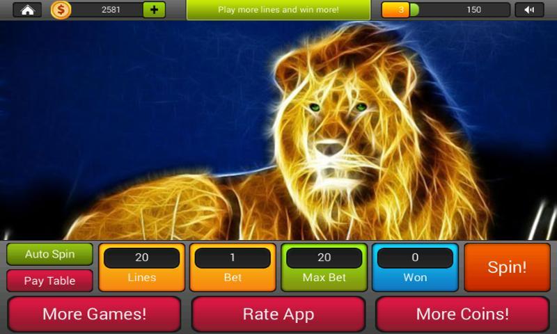 Golden Lion Casino для Андроид - скачать APK