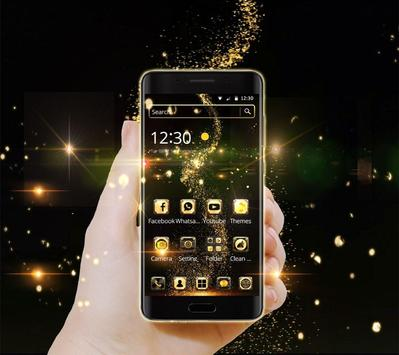 Golden Universe Galaxy NeonTheme screenshot 2