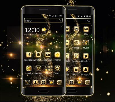 Golden Universe Galaxy NeonTheme screenshot 5