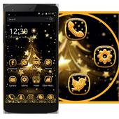 Gold Tree Happy Theme icon