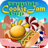 Super Crumble Cookie Jam Pop icon