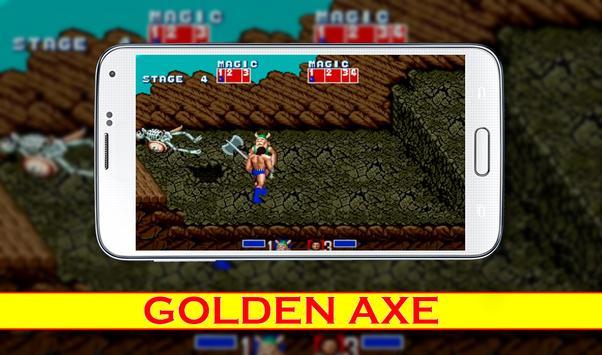 New tricks Golden Axe poster