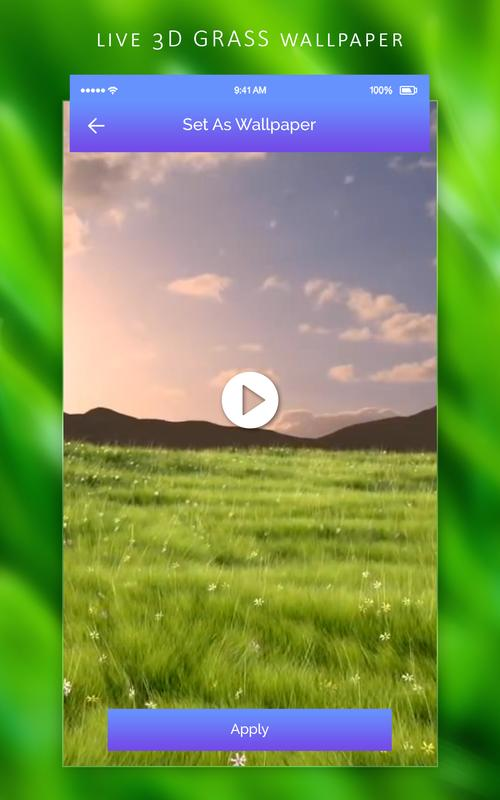 3d Grass Live Wallpaper For Android Apk Download