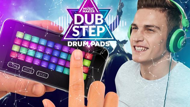 Drum Pad dubstep music maker dj screenshot 3