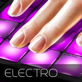 Drum Pad electro music maker dj icon