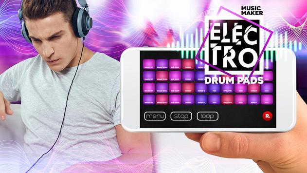 Drum Pad electro music maker dj screenshot 1