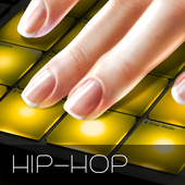 Drum Pad HIP-HOP music maker dj icon