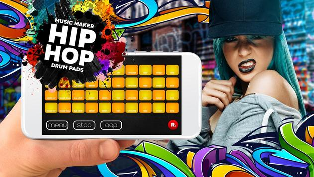 Drum Pad HIP-HOP music maker dj screenshot 3
