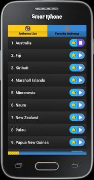 National Anthems : Oceania screenshot 1