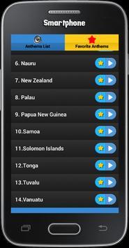 National Anthems : Oceania screenshot 3
