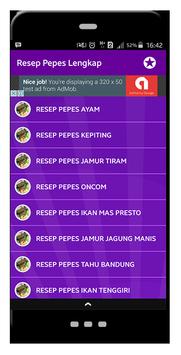 Resep Pepes Lengkap screenshot 1