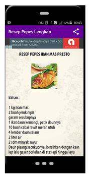 Resep Pepes Lengkap screenshot 2