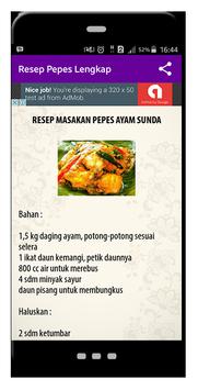 Resep Pepes Lengkap screenshot 3