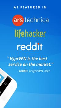 VPN - Fast, Secure & Unlimited WiFi with VyprVPN apk screenshot