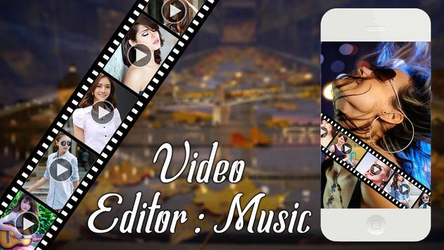 Video Editor With Music poster