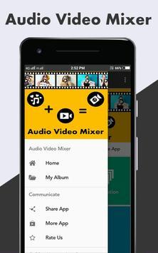 Audio Video Mixer screenshot 1