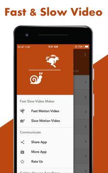 Fast : Slow Motion Video Maker poster