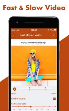 Fast : Slow Motion Video Maker screenshot 3