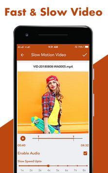 Fast : Slow Motion Video Maker screenshot 4